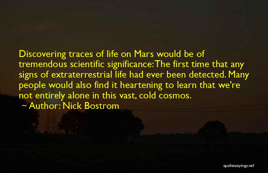 Extraterrestrial Quotes By Nick Bostrom