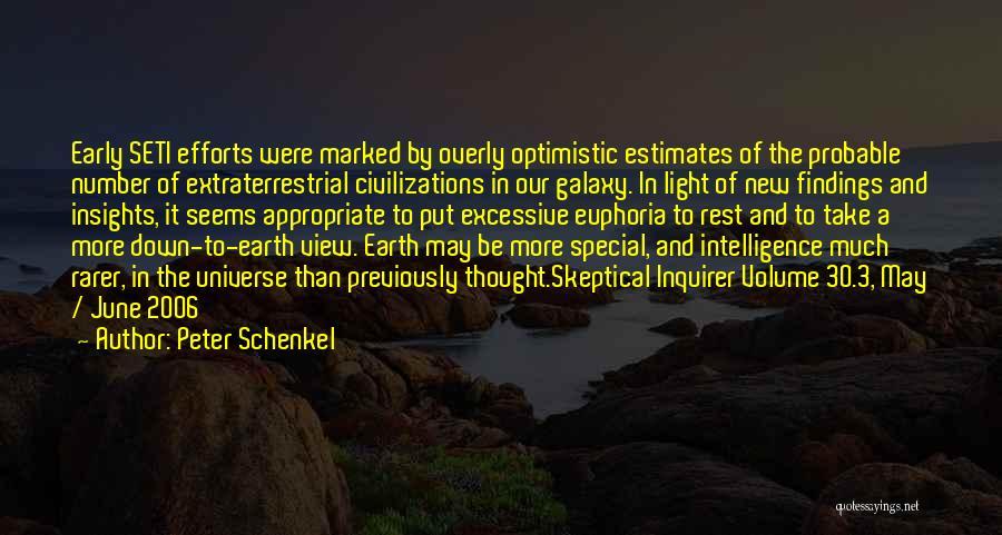 Extraterrestrial Quotes By Peter Schenkel