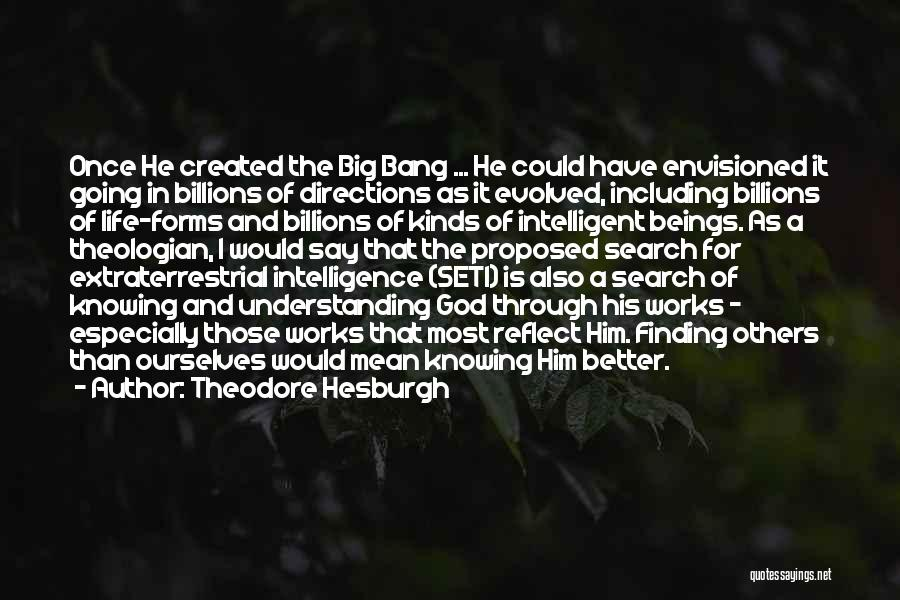 Extraterrestrial Quotes By Theodore Hesburgh
