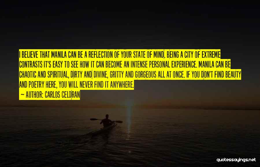 Extreme Beauty Quotes By Carlos Celdran