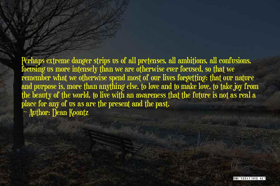 Extreme Beauty Quotes By Dean Koontz