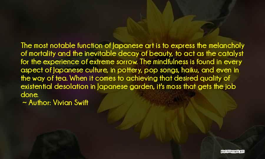 Extreme Beauty Quotes By Vivian Swift