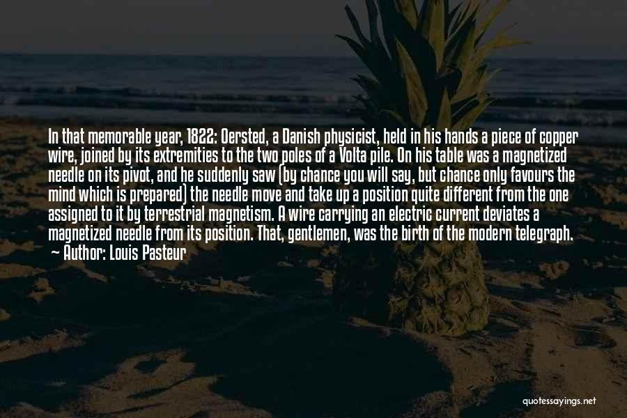 Extremities Memorable Quotes By Louis Pasteur