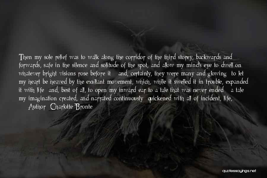 Exultant Quotes By Charlotte Bronte