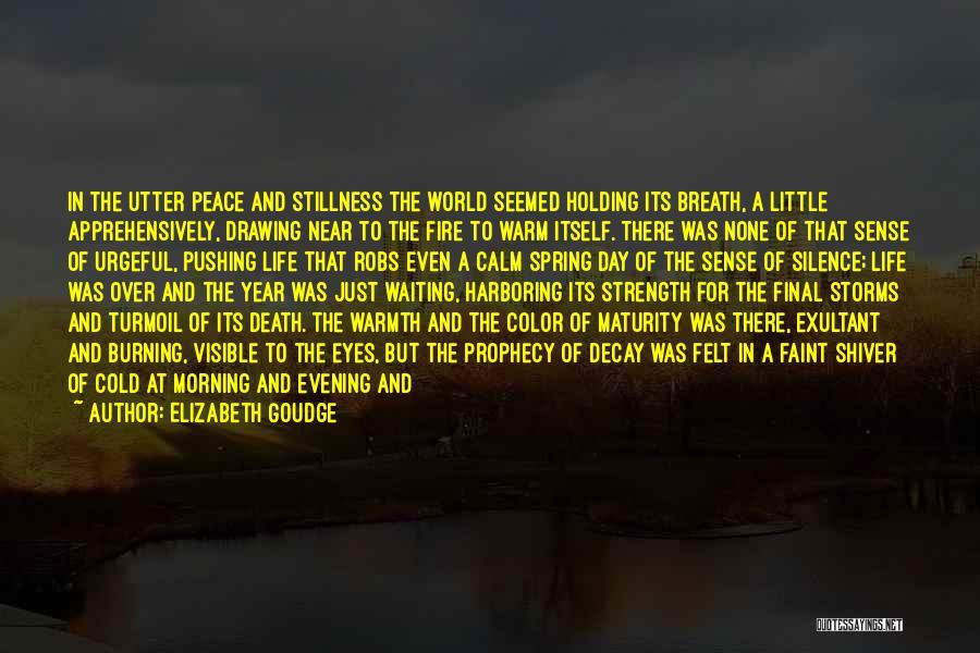Exultant Quotes By Elizabeth Goudge