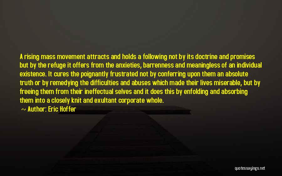 Exultant Quotes By Eric Hoffer