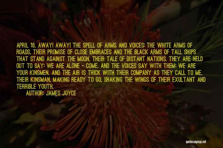 Exultant Quotes By James Joyce