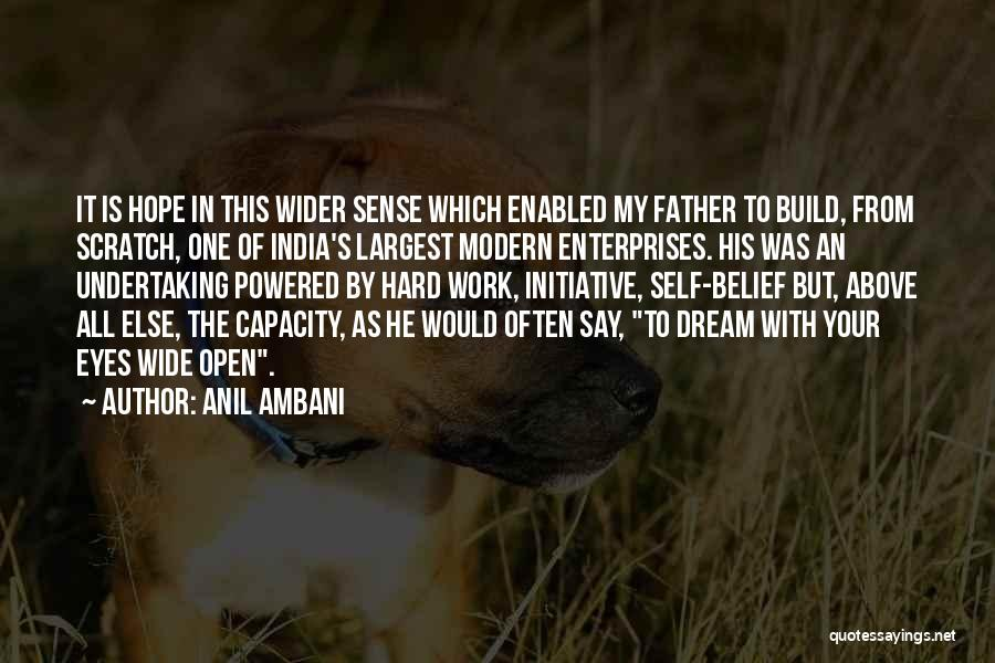 Eye Dream Quotes By Anil Ambani
