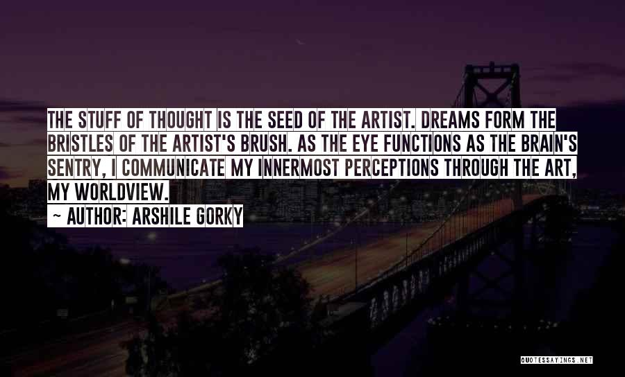 Eye Dream Quotes By Arshile Gorky