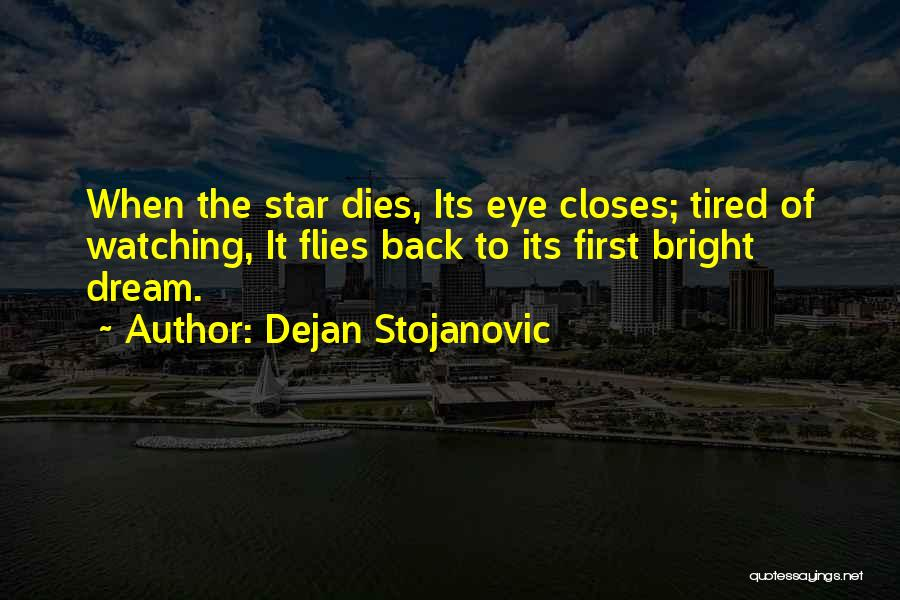Eye Dream Quotes By Dejan Stojanovic