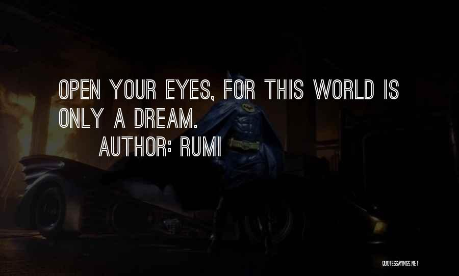 Eye Dream Quotes By Rumi