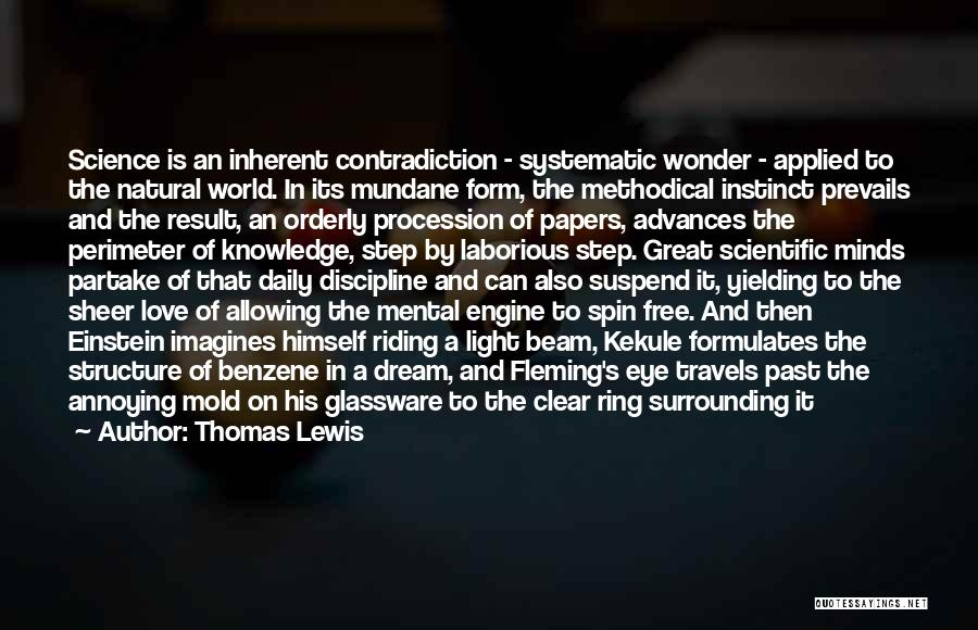 Eye Dream Quotes By Thomas Lewis