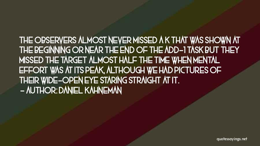 Eye Pictures Quotes By Daniel Kahneman
