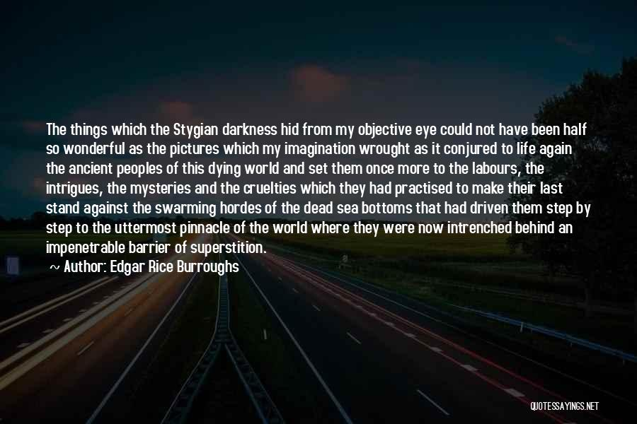 Eye Pictures Quotes By Edgar Rice Burroughs