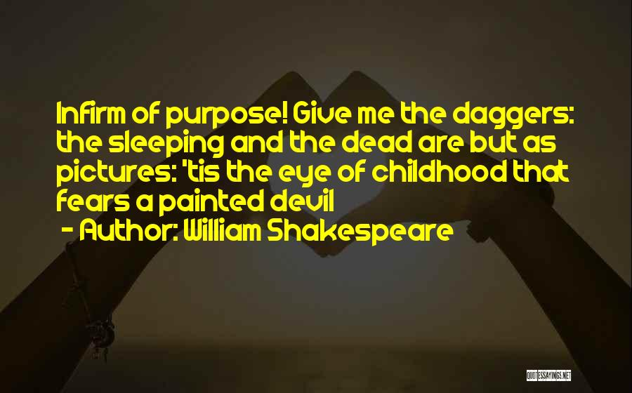 Eye Pictures Quotes By William Shakespeare