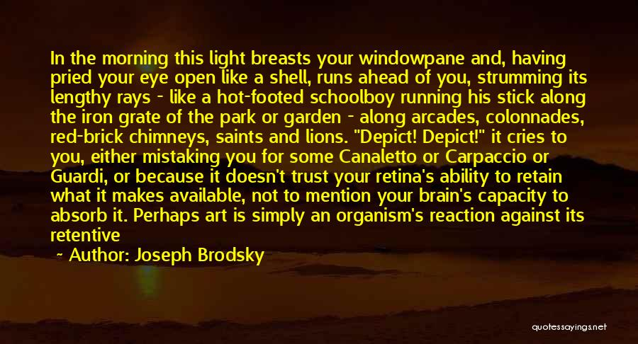 Eye Pupil Quotes By Joseph Brodsky