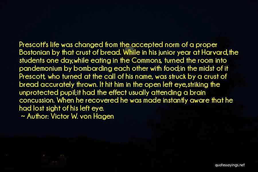 Eye Pupil Quotes By Victor W. Von Hagen