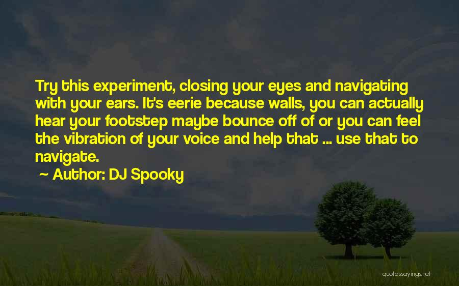 Eye Quotes By DJ Spooky