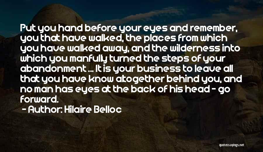 Eye Quotes By Hilaire Belloc