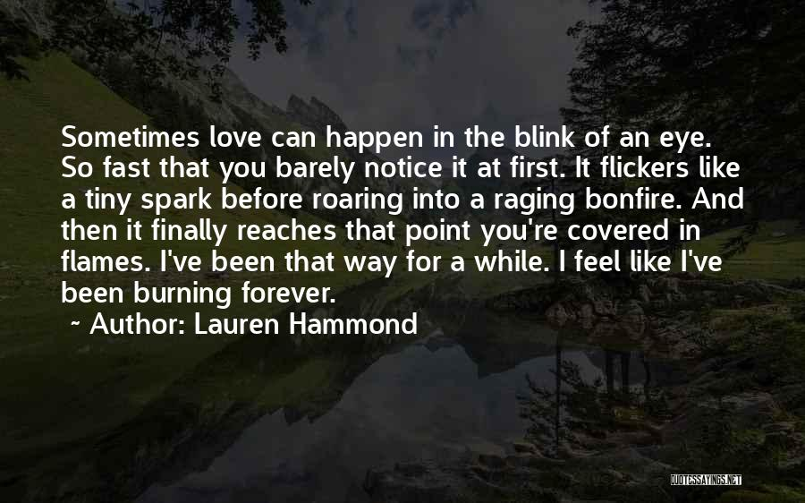 Eye Quotes By Lauren Hammond