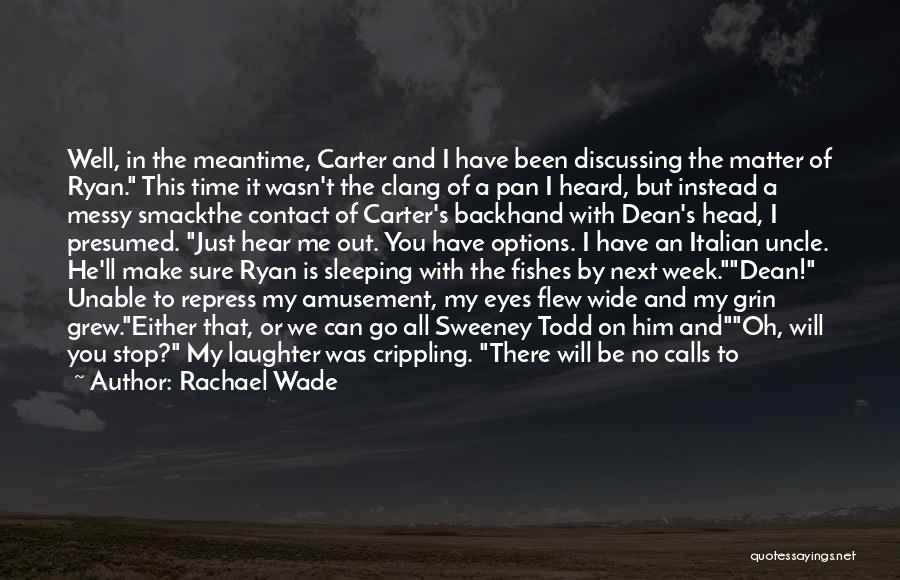 Eyes Contact Love Quotes By Rachael Wade