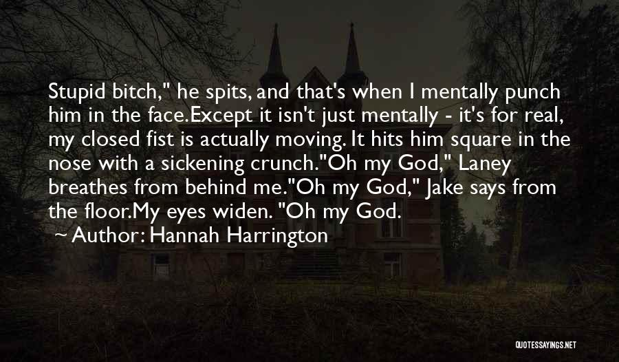 Eyes Funny Quotes By Hannah Harrington