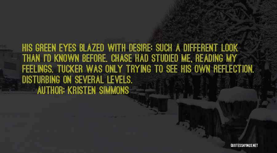 Eyes Funny Quotes By Kristen Simmons