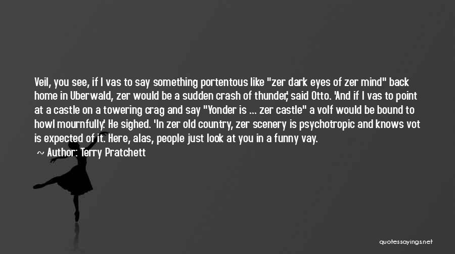 Eyes Funny Quotes By Terry Pratchett