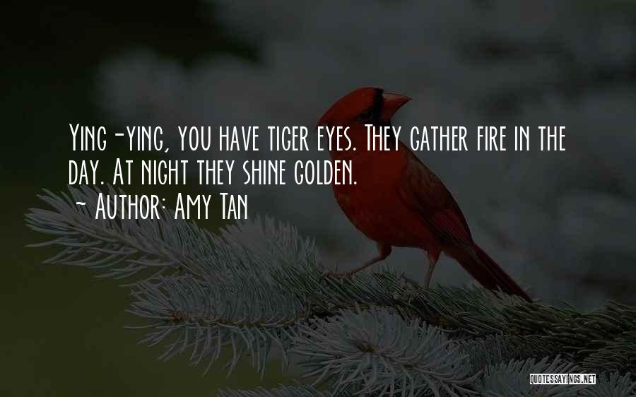Eyes In Night Quotes By Amy Tan