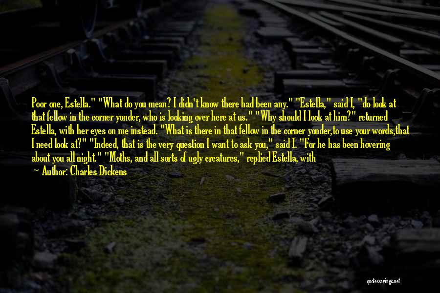 Eyes In Night Quotes By Charles Dickens