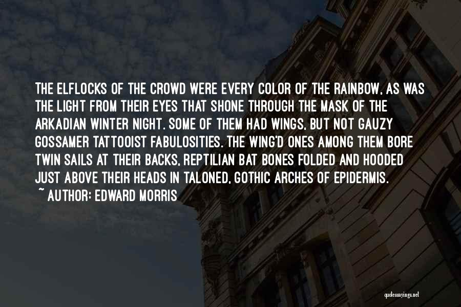 Eyes In Night Quotes By Edward Morris