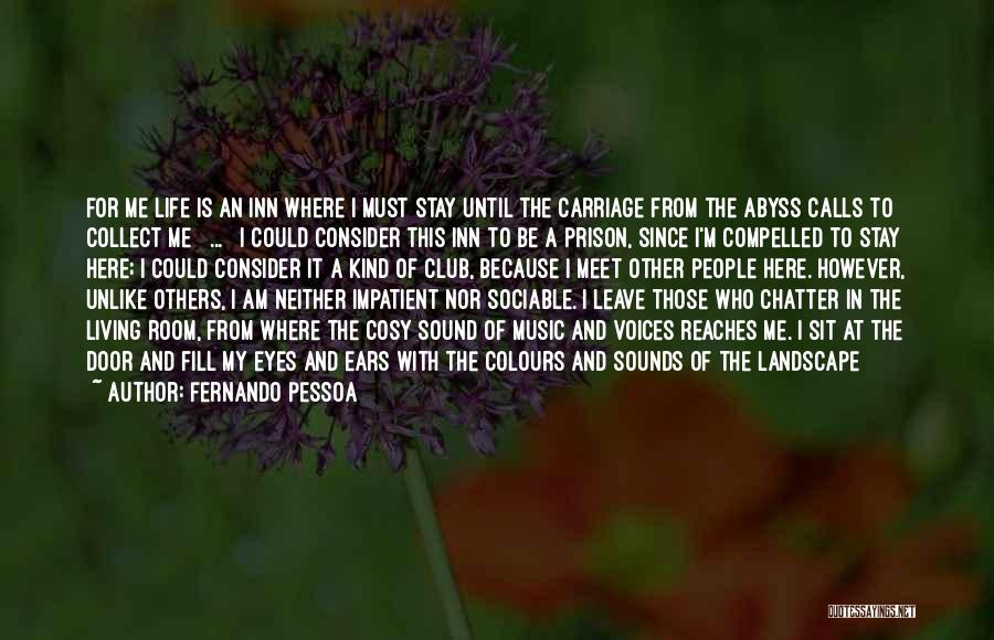 Eyes In Night Quotes By Fernando Pessoa