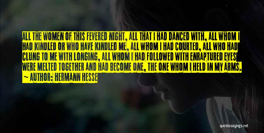 Eyes In Night Quotes By Hermann Hesse