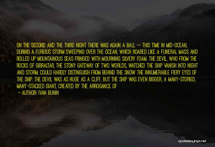 Eyes In Night Quotes By Ivan Bunin