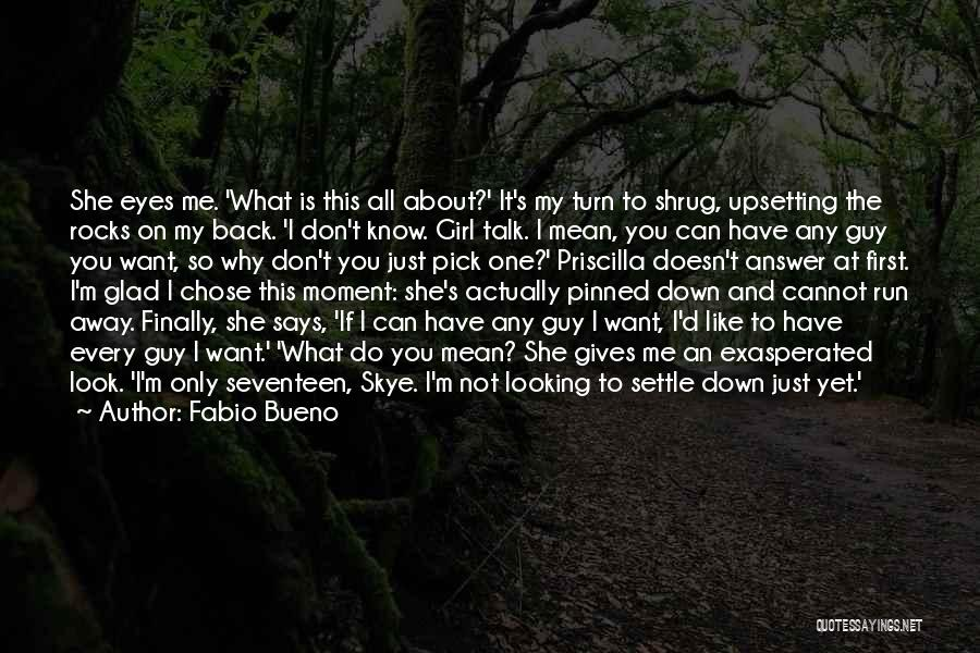 Eyes Saying Quotes By Fabio Bueno