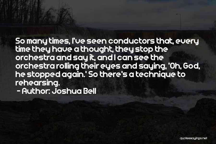 Eyes Saying Quotes By Joshua Bell