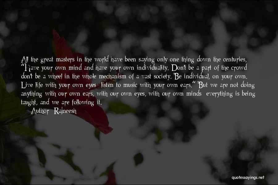 Eyes Saying Quotes By Rajneesh