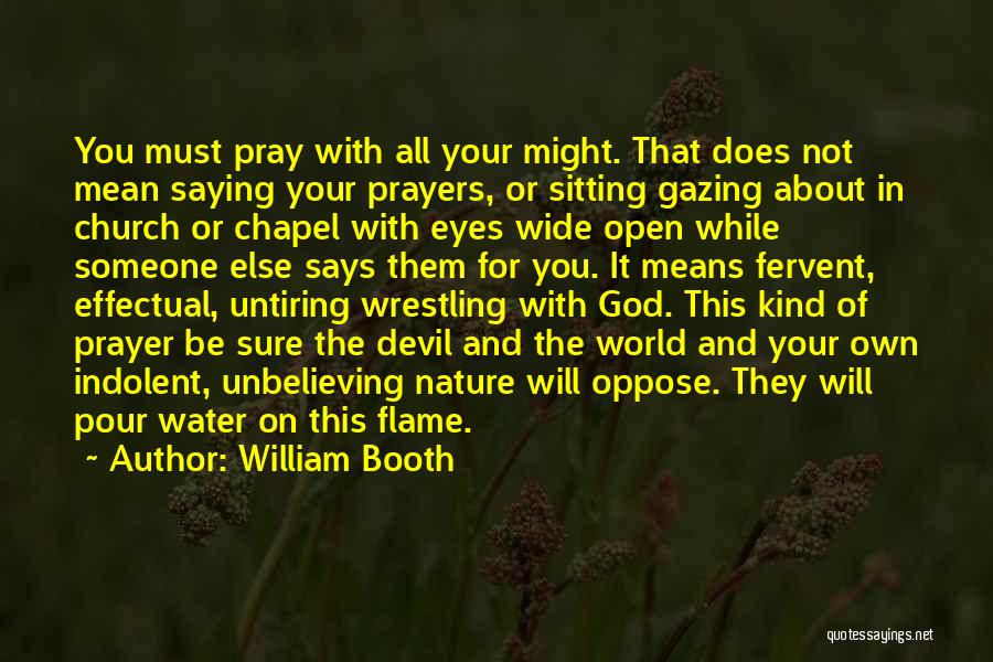 Eyes Saying Quotes By William Booth