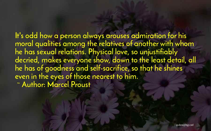 Eyes Show Love Quotes By Marcel Proust