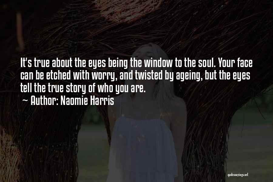 New The Eyes Are The Window To The Soul Quote - Mesgulsinyali
