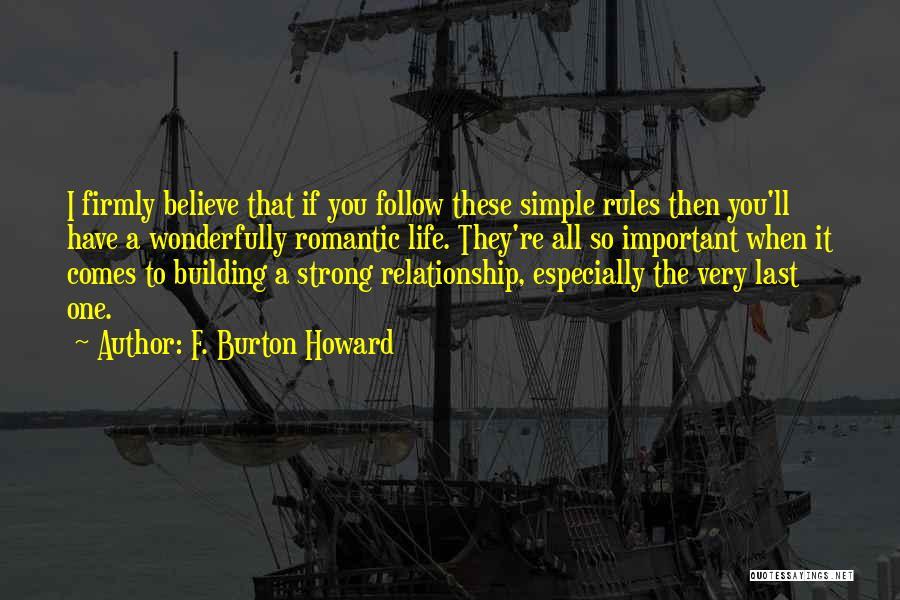 F. Burton Howard Quotes 1671439