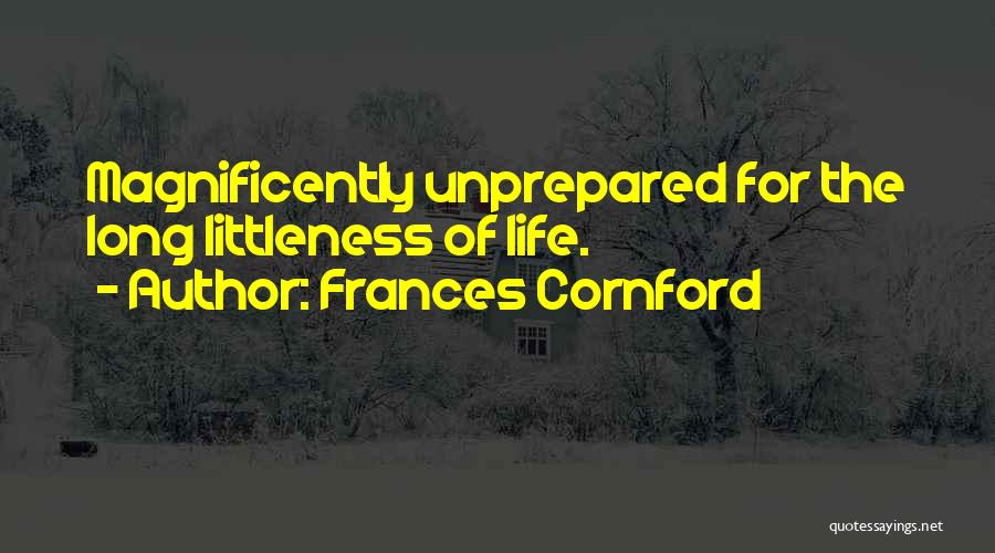 F M Cornford Quotes By Frances Cornford