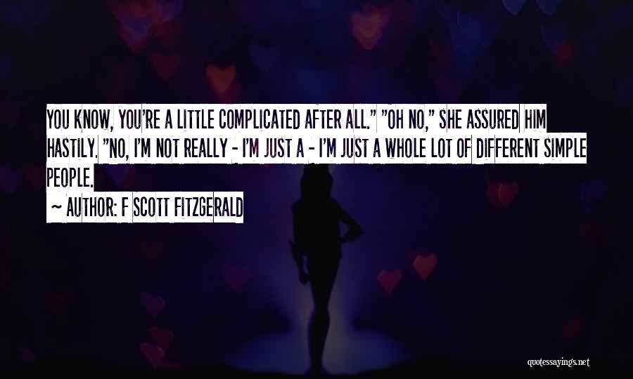 F Scott Fitzgerald Quotes 119381