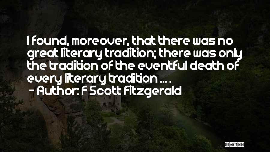 F Scott Fitzgerald Quotes 1253631