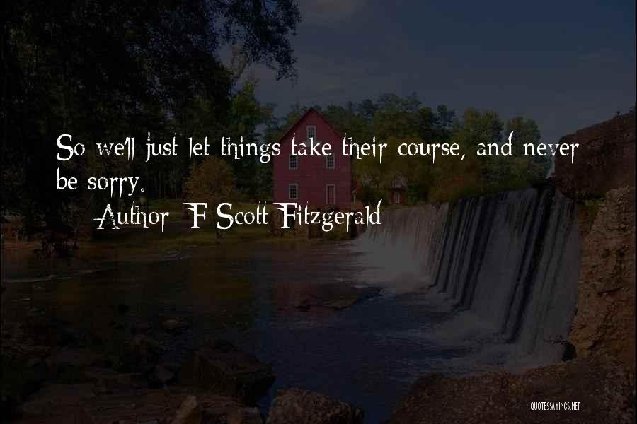 F Scott Fitzgerald Quotes 1378591
