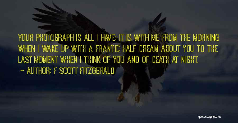 F Scott Fitzgerald Quotes 1460952