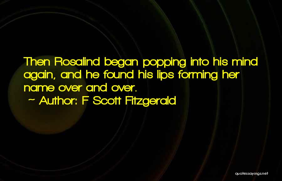 F Scott Fitzgerald Quotes 1569938