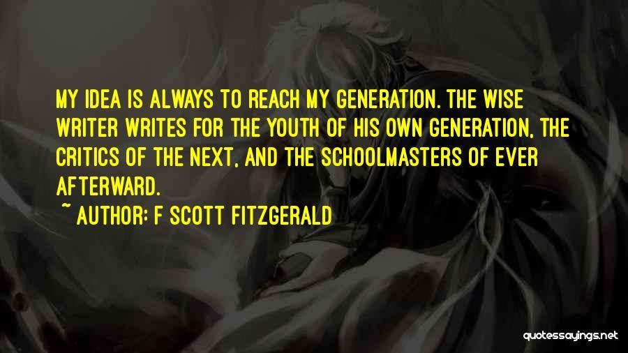 F Scott Fitzgerald Quotes 1629966