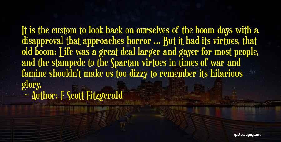 F Scott Fitzgerald Quotes 1691784