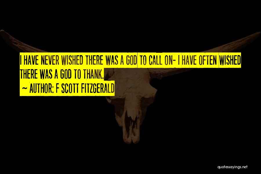 F Scott Fitzgerald Quotes 1822270